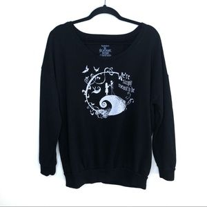 Disney Nightmare Before Christmas Graphic Sweater